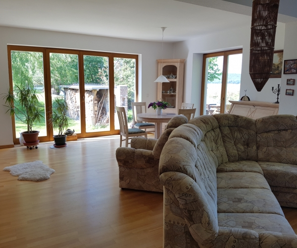 Ferienhaus Milow - Wohnzimmer