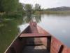 Blick über den alten Fischerkahn hinweg